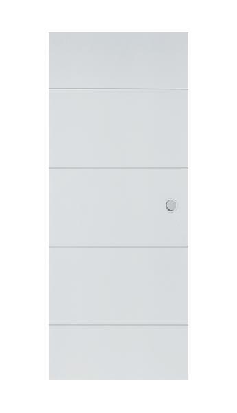 Porte alvéolaire KETCH rivD 204x83 40mm entaille scrigno/doortech