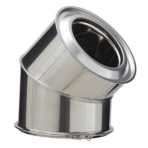 ELMNT COUDE 45 230 INOX INOX