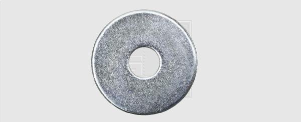 Rondelles larges Ø14-40mm zinguées boite plastique 16