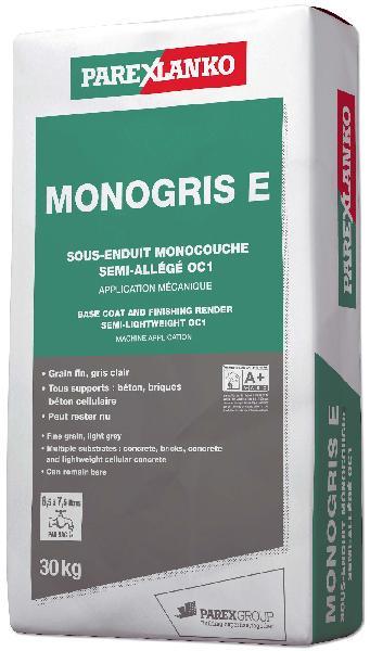 Sous enduit MONOGRIS E monocouche sac 30kg