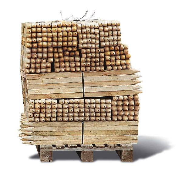 Piquet de chantier bois 30X30mm 100cm