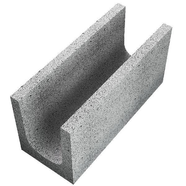 Bloc linteau 20x20x50 CE+NF L200