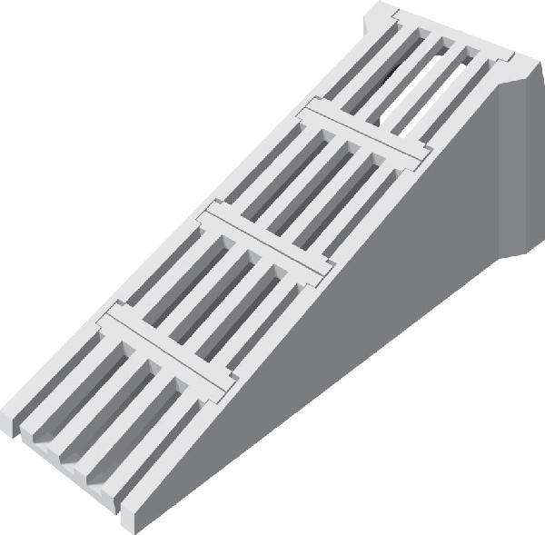 Tête d'aqueduc de sécurité béton Ø800 complète NF