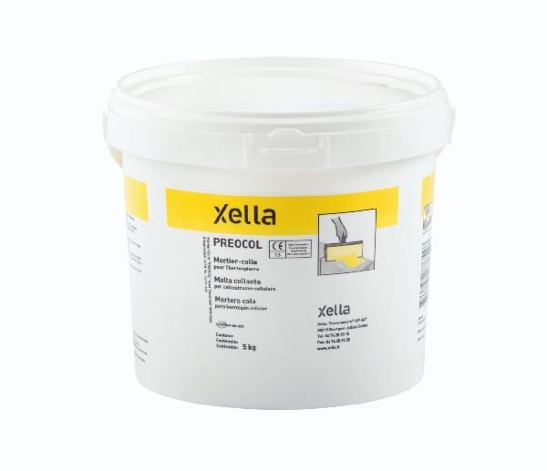 Mortier colle béton cellulaire Ytong Fix seau 5kg
