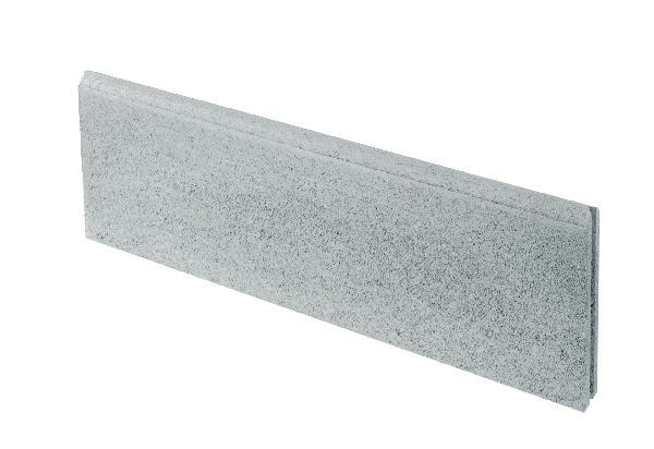 Bordure béton P2 grise 1m
