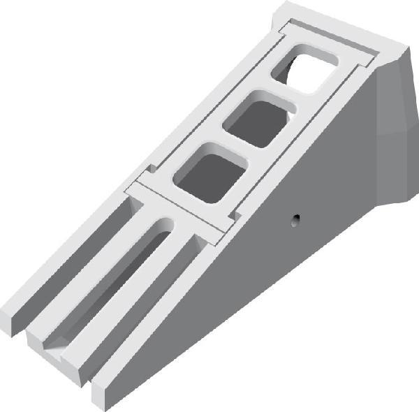 Tête d'aqueduc de sécurité béton Ø300 complète NF