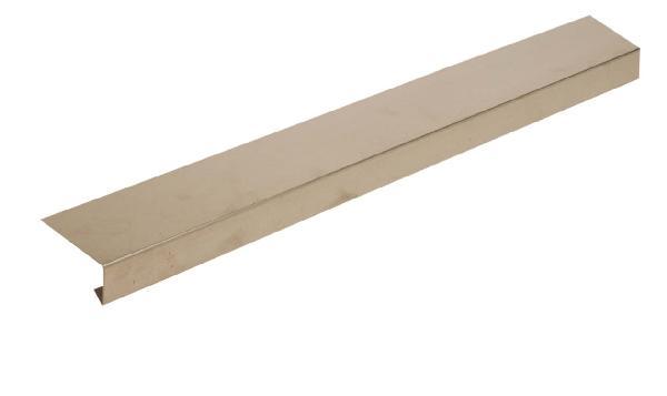 Bande de rive lyonnaise zinc 0.65mm dev25cm 2m