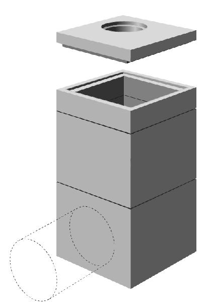 r hausse b ton pour regard 1200x1200 sans. Black Bedroom Furniture Sets. Home Design Ideas