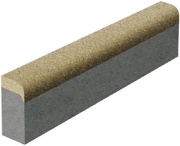 Bordure béton P3 grise classe T 1m