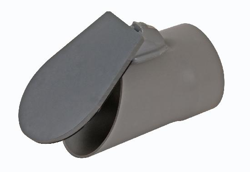 CLAPET DE NEZ PVC A COLLER F D160 PIF160