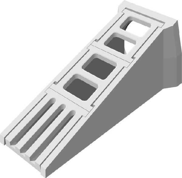 Tête d'aqueduc de sécurité béton Ø500 complète NF