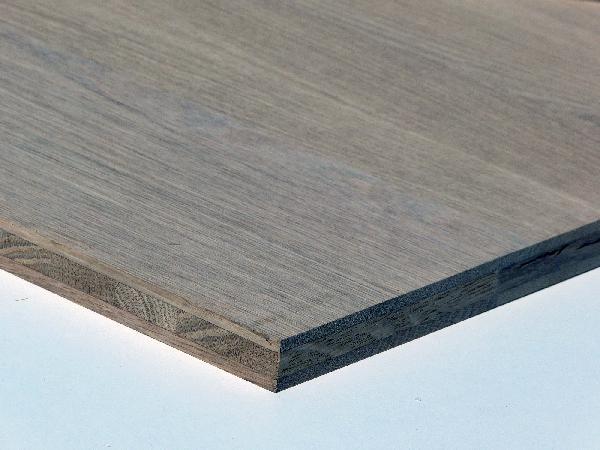 Panneau 3 plis chêne choix A/B 20x1650x1250mm