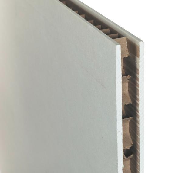 Cloison alvéolaire POLYCLOISON BA hydro 50mm 250x120cm