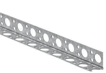 Cornière métal renfort d'angle plaque de plâtre 2,50m