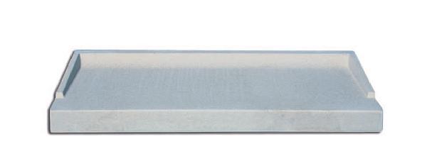 Appui de fenêtre ABS2 gris 128x35,5cm