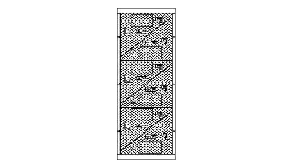 Cadre + 6 tampons fonte pour K3C D400 sans logo