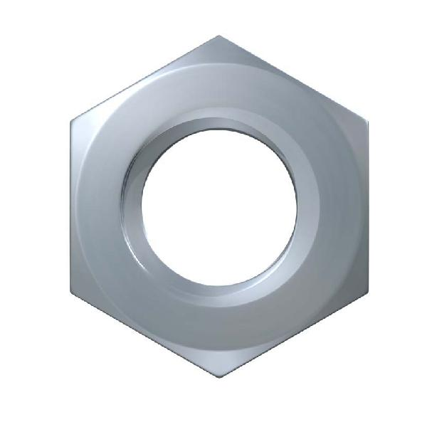 Ecrous hexagonaux Ø10 zingués boite 100