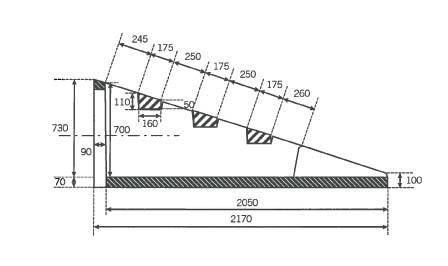 Tête d'aqueduc de sécurité béton Ø600 complète NF