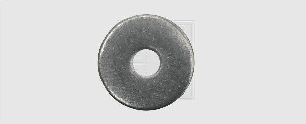 RONDELLES LARGES Ø8 -25MM INOX A2 BOITE PLASTIQUE 6