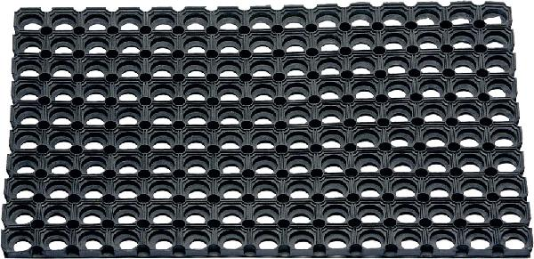 Caillebotis caoutchouc 100x150 Ep.23mm