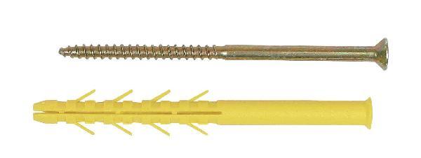 Chevilles CQLV nylon Ø10x100mm sachet 10