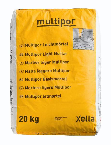 Mortier colle béton cellulaire MULTIPOR sac 20kg