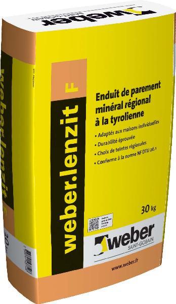 Enduit WEBER LENZIT F 61013 brun sac 30Kg