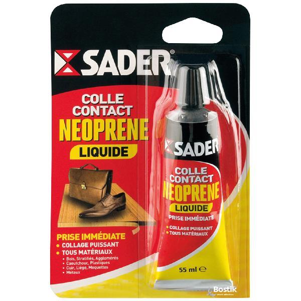 Colle SADER néoprène liquide pot 55ml