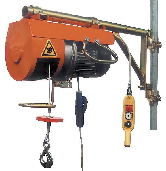 Treuil électrique + potence fixe DM200 200Kg