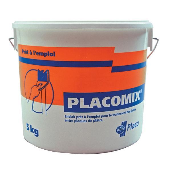 Enduit à joint PLACOMIX prêt à l'emploi seau 5kg