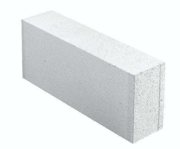 Carreau béton cellulaire lisse 15x25x62,5cm