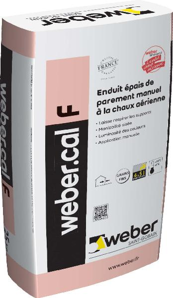 Enduit PAREMENT GRAIN FIN beige rose - 222 sac 25Kg