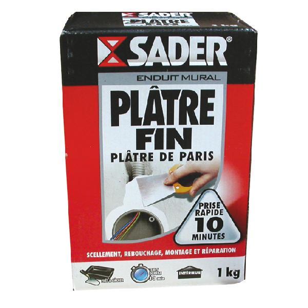 PLATRE FIN SADER 1KG