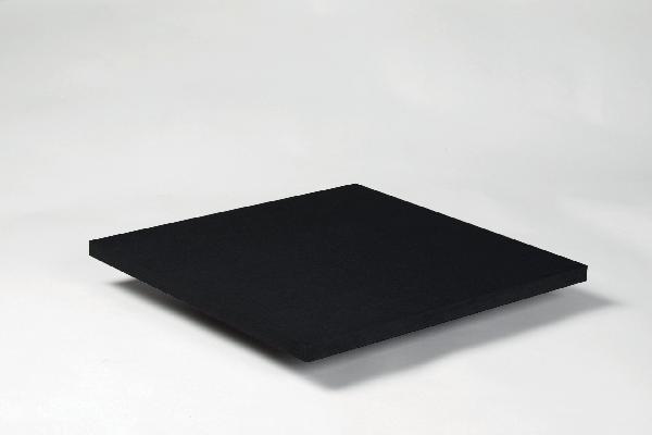 Panneau MDF FIBRACOLOUR noir 19x2850x2100mm