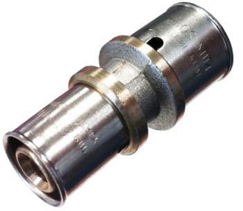 Jonction inégale à sertir Ø20 pour tube multicouche