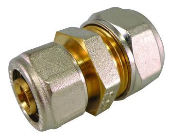 Jonction inégale Ø20-16 pour tube multicouche