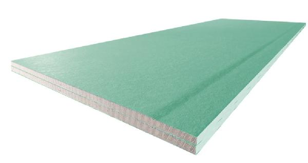Plaque plâtre PREGYTWIN hydro bords amincis 25mm 280x90cm