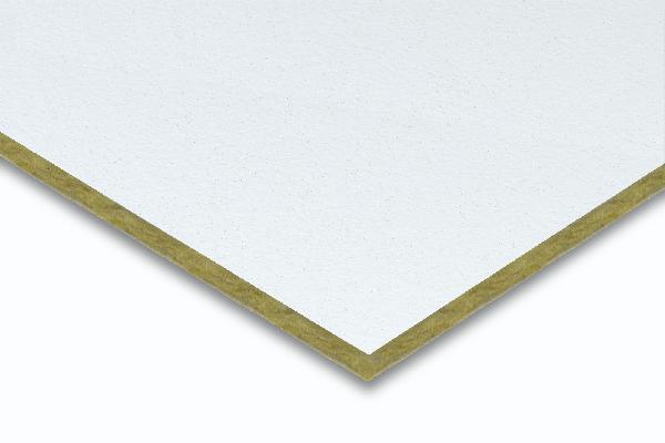 Dalle plafond soft LOGIC A aw0.50 bord droit 12mm 60x60cm