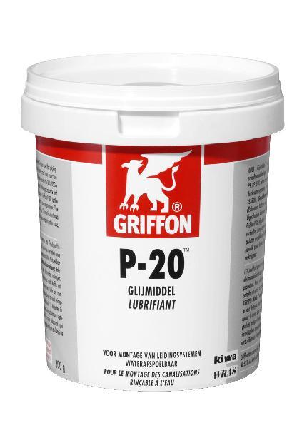 Lubrifiant P20 pour joint de tuyau béton, fonte, PVC, PE, PP pot 800 g