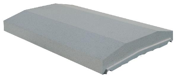 couvertine optipose sp ciale platine 49x33cm gris. Black Bedroom Furniture Sets. Home Design Ideas