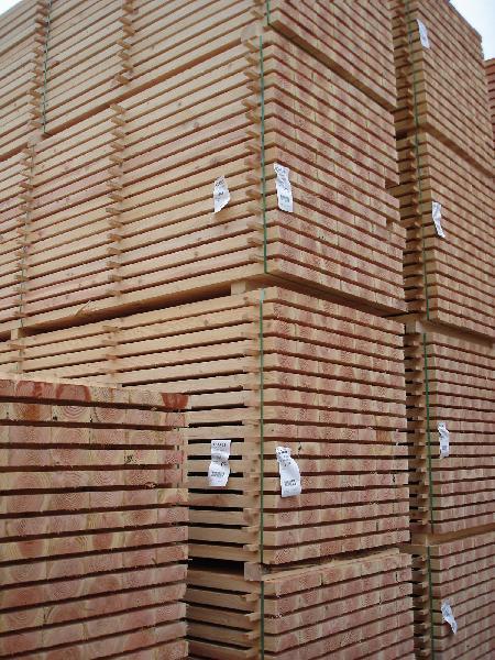 Bois d'ossature douglas non traité 45x120mm 5,10m