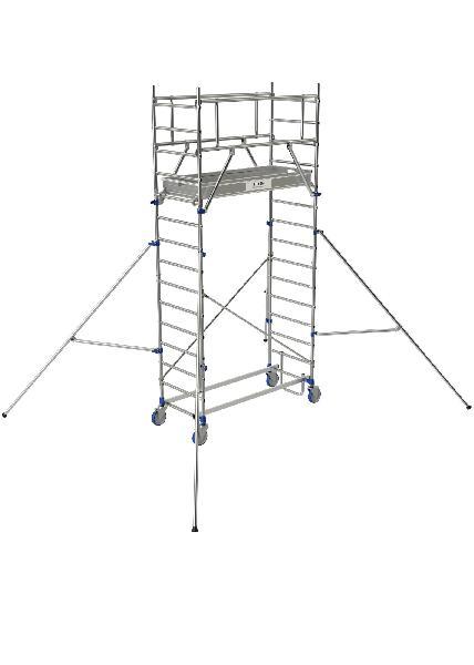 Echafaudage roulant TOTEM 2 BOX 180 acier 4,8m plancher 1,79X0,66