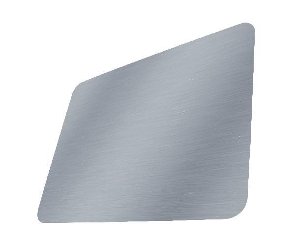Panneau composite B30 1 face alu brossé RAL 9006 gris 03x3050x1500mm