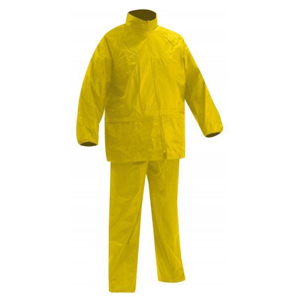Veste et pantalon de pluie WINDY jaune T.XL