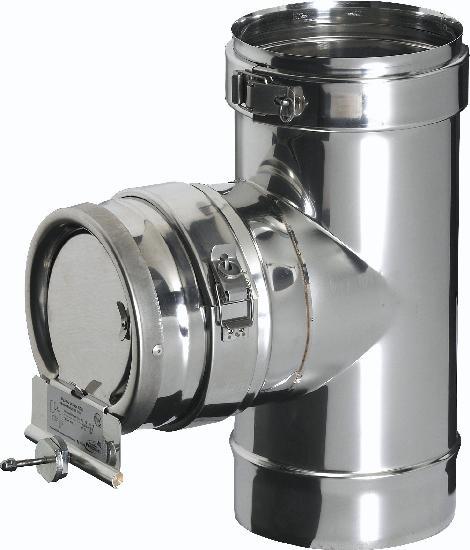 Régulateur de tirage KITINOX Ø180mm REGUL INOX 180I