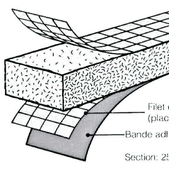 Joint hydrogonflant 100% bentonite SUPERSTOP 61m