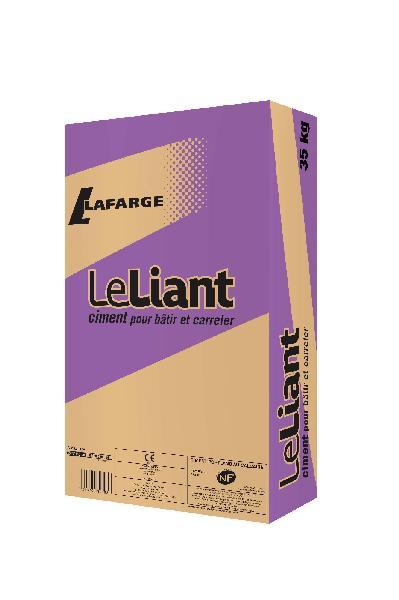 Ciment LE LIANT gris 32,5 N CE+NF sac 35kg