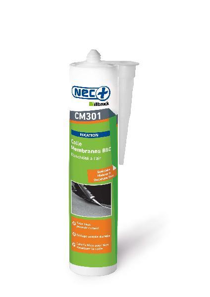 Colle pour membrane BBC COL CM301 bleu cartouche 310 ml