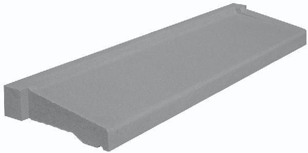 Appui de fenêtre à pose simplifiée gris tableau :90x35cm