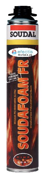Mousse expansive PU COUPE FEU pistolable 750ml